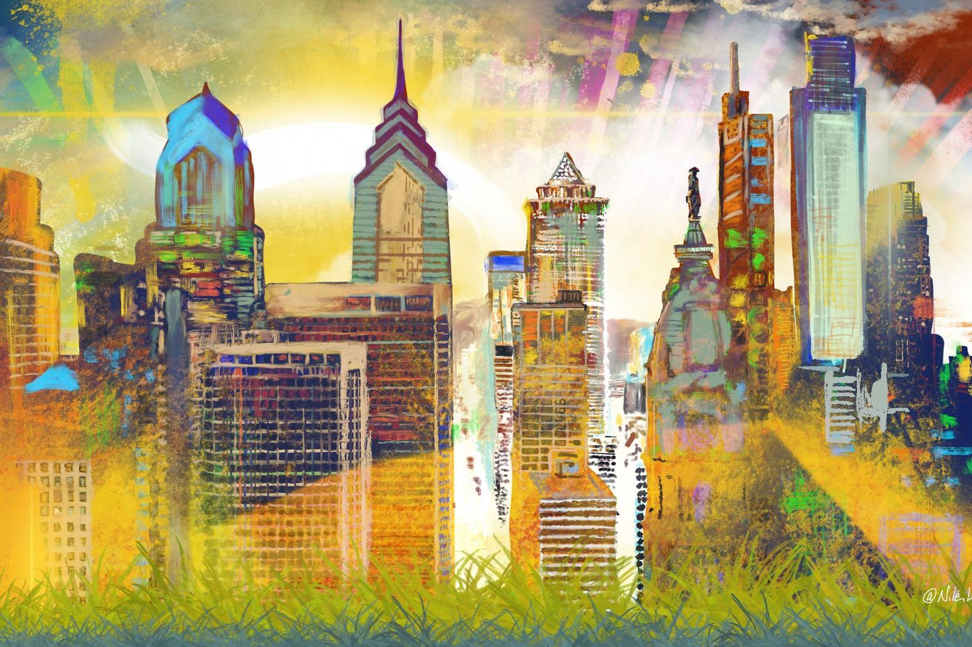 Mural Arts' ambitious new artwork exists entirely online, and your pics can be part of it