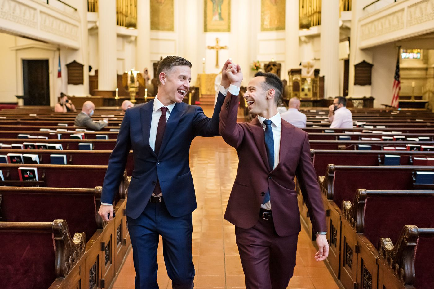 Adam Ouanes & Brad Luna: Inspired by their parents, they took a chance on love