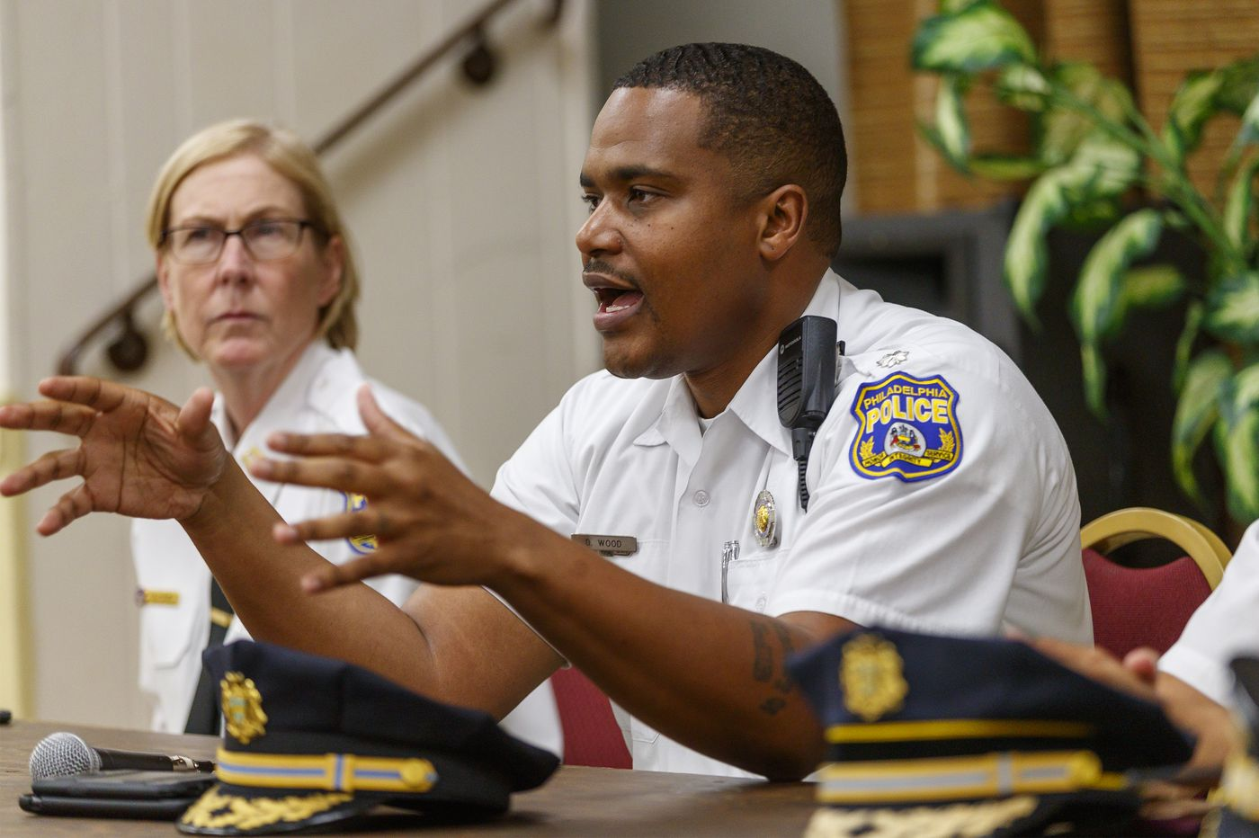 A police commander in West Philly wants to change how cops interact with residents.