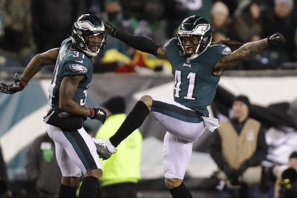 Eagles' Ronald Darby and Jalen Mills are nailing down the corners