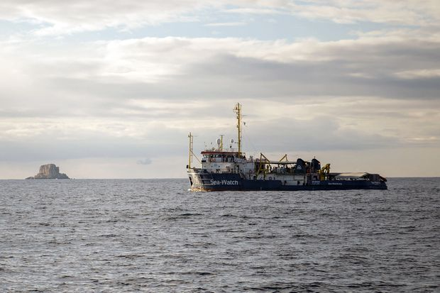 More than 100 migrants missing in Mediterranean in vessel sinking, UN says