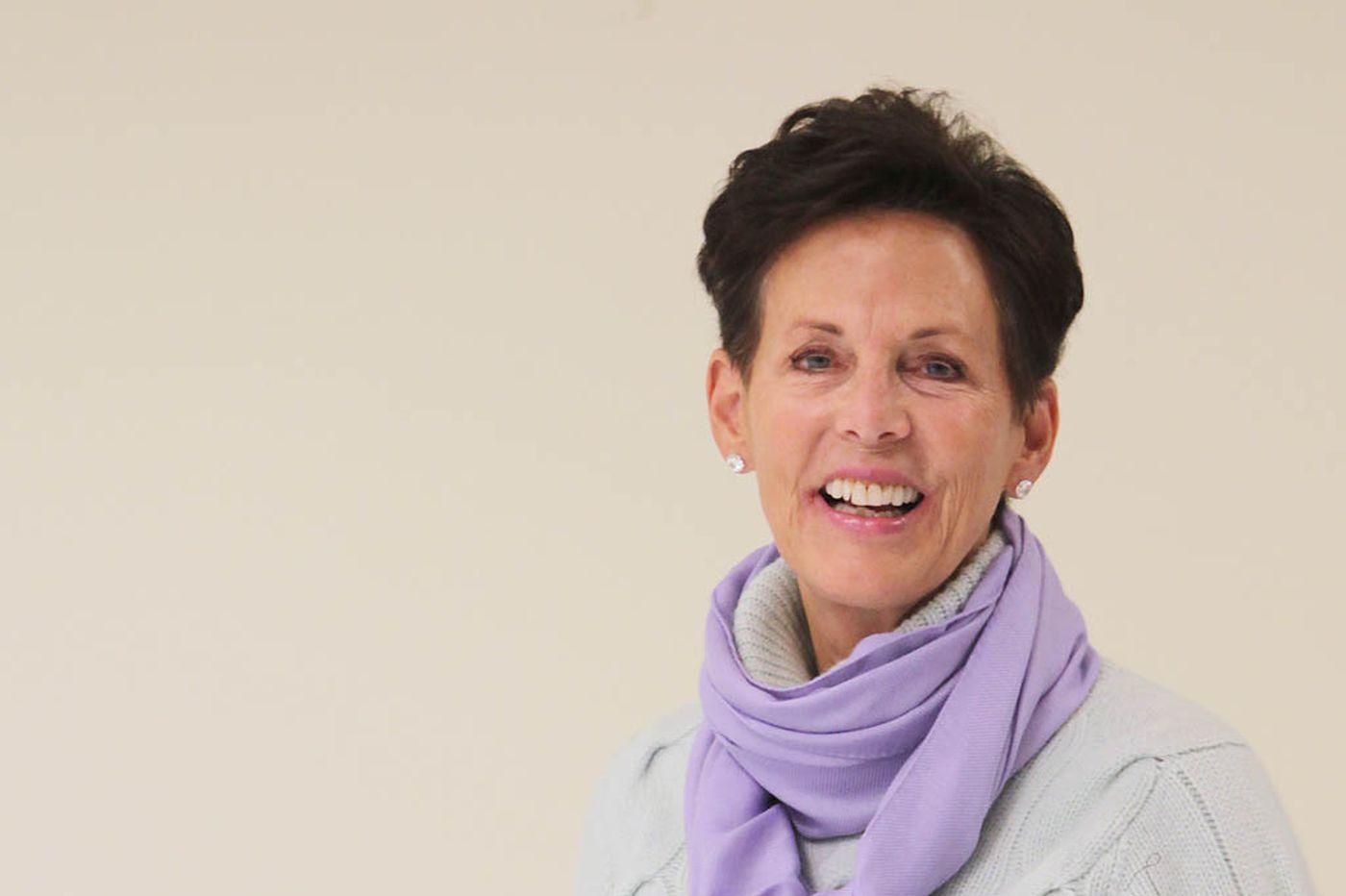 Listen up, students: She defines 'mettle'