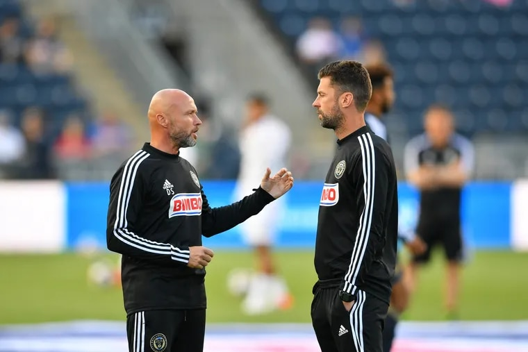 Union assistant coach Dick Schreuder (left) is leaving the team to join his brother Alfred on the staff of German club TSG Hoffenheim.