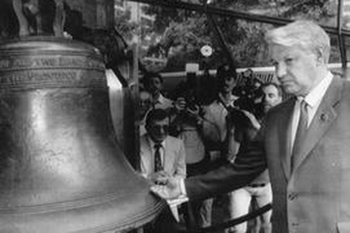 Worldview | Recalling Yeltsin's Phila. visit