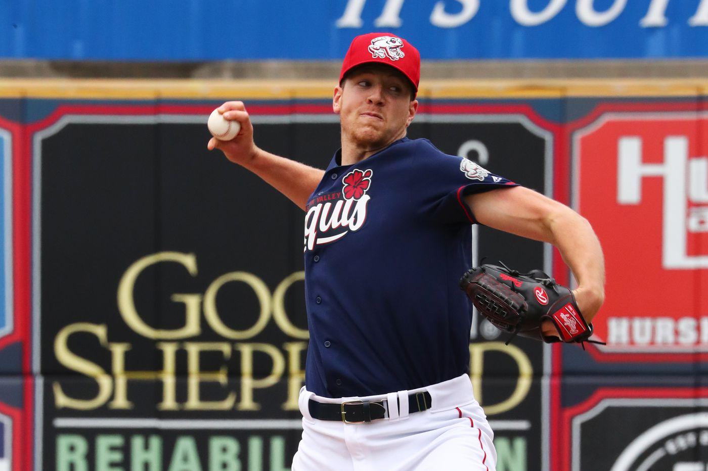 Nick Pivetta struggles in latest start for Phillies' triple-A IronPigs