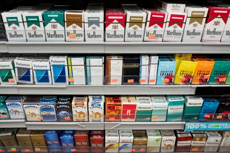 Illegal sales of cigarettes to Philadelphia youth have doubled in the last year.