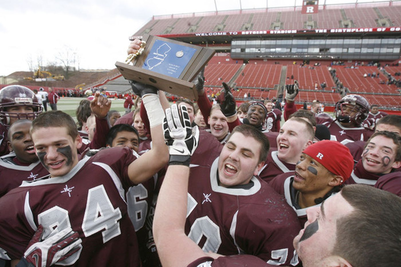 Holy Cross wins state football title