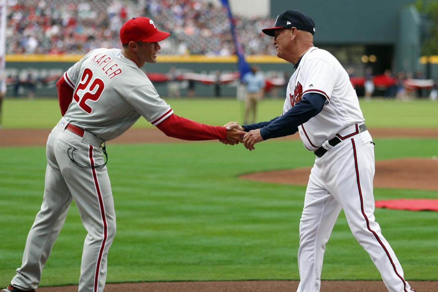 Gabe Kapler's managing-by-numbers approach backfires on him in Phillies debut | Bob Brookover