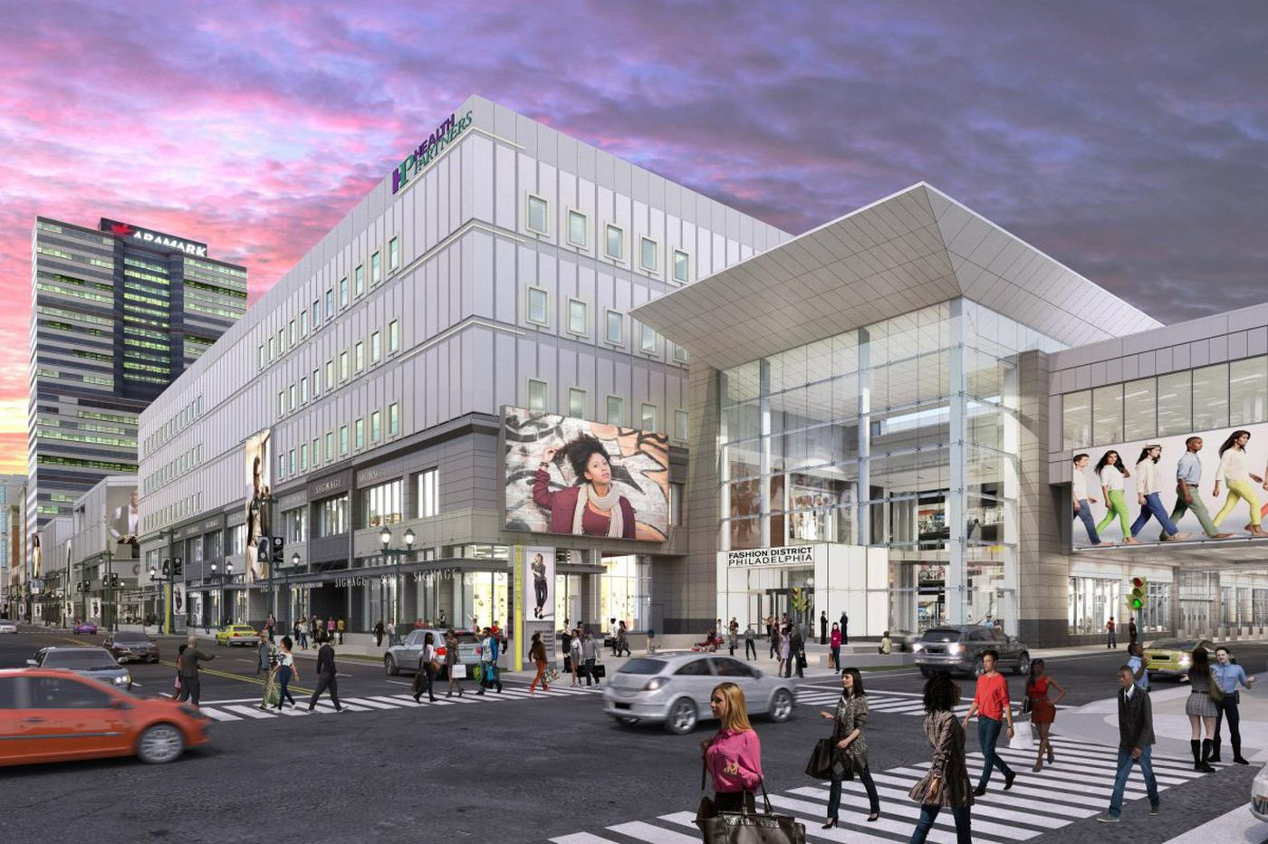 Outlets are out, H&M and movies are in, as Gallery redevelopers retool