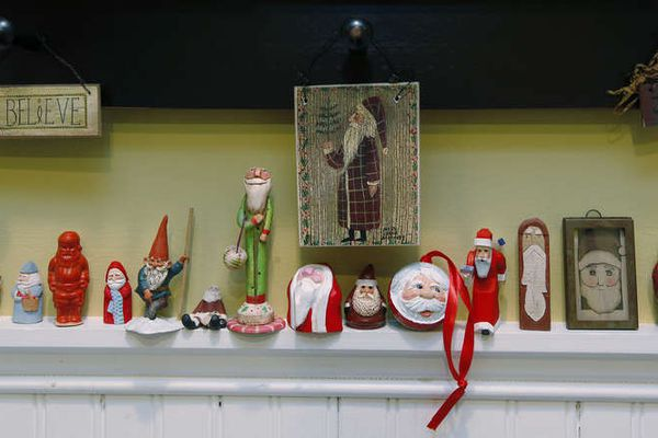 Haven: In Ambler, a trove of coziness - and Santas