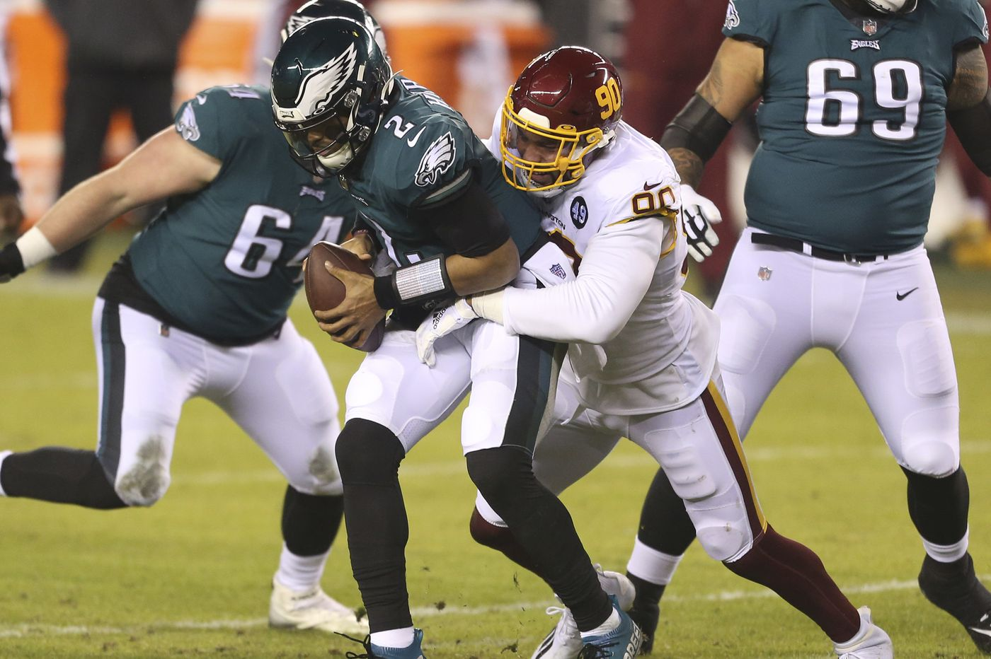 Jalen Hurts' four-game stint as Eagles' starting quarterback had its ups and downs. Now, we wait.