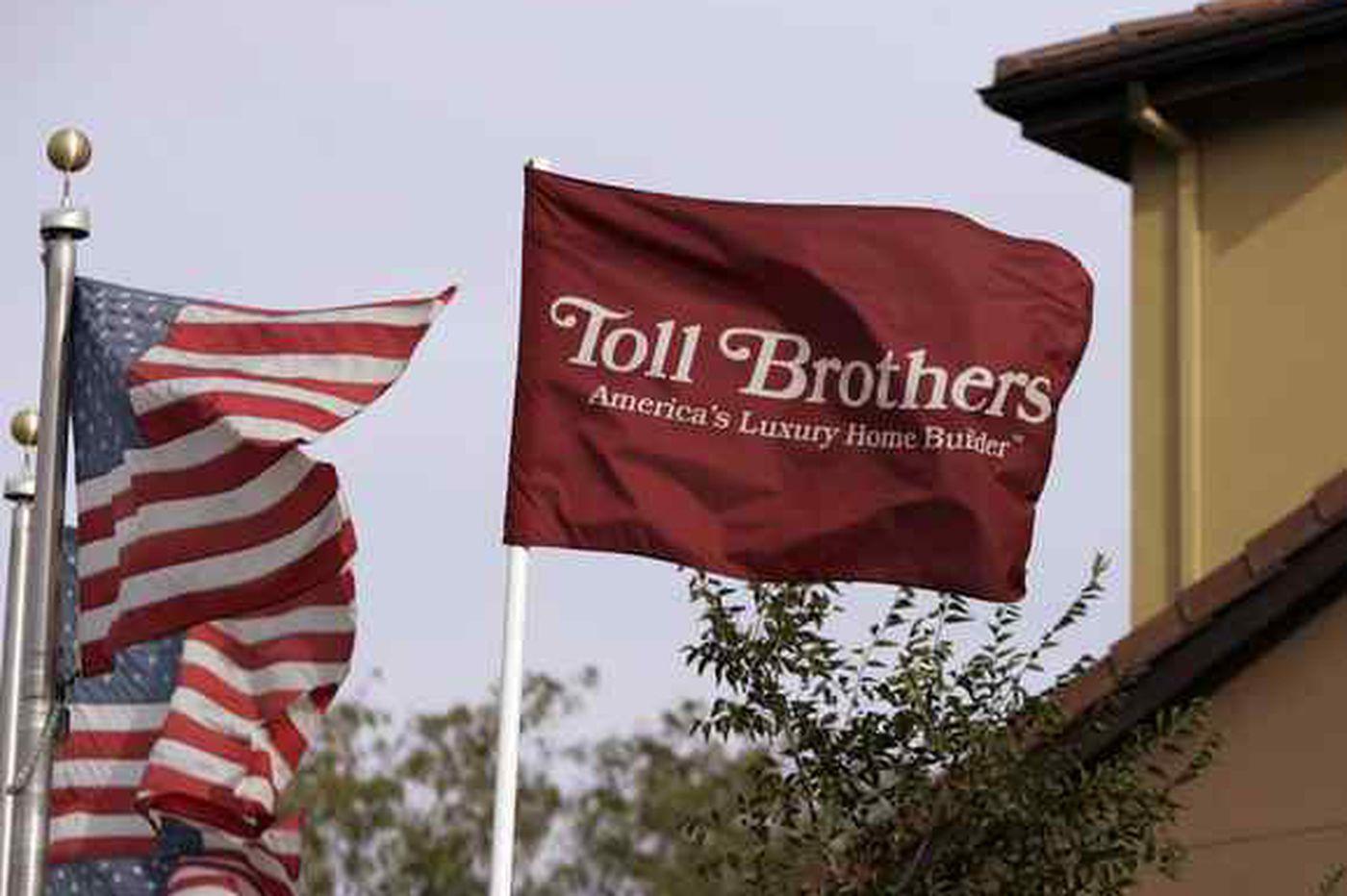 Toll Bros.' woes show mounting U.S. slowdown fears