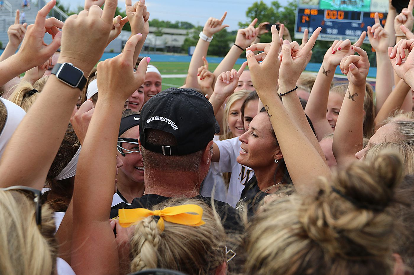 Moorestown girls' lacrosse coach Deanna Knobloch finally hanging it up after 27 years and 580 wins