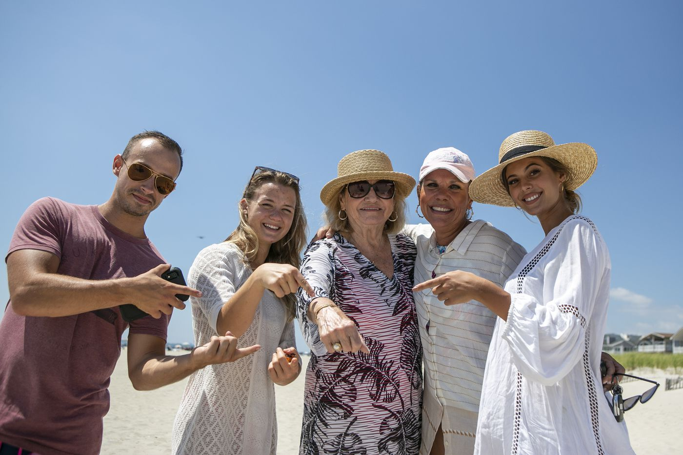 On the beach in Ocean City, a widow's treasured bracelet is lost in the sand. Will she get it back?