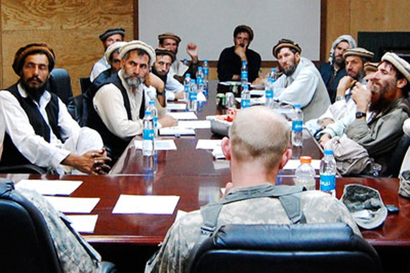 Mired in Afghanistan: Together, yet so far apart