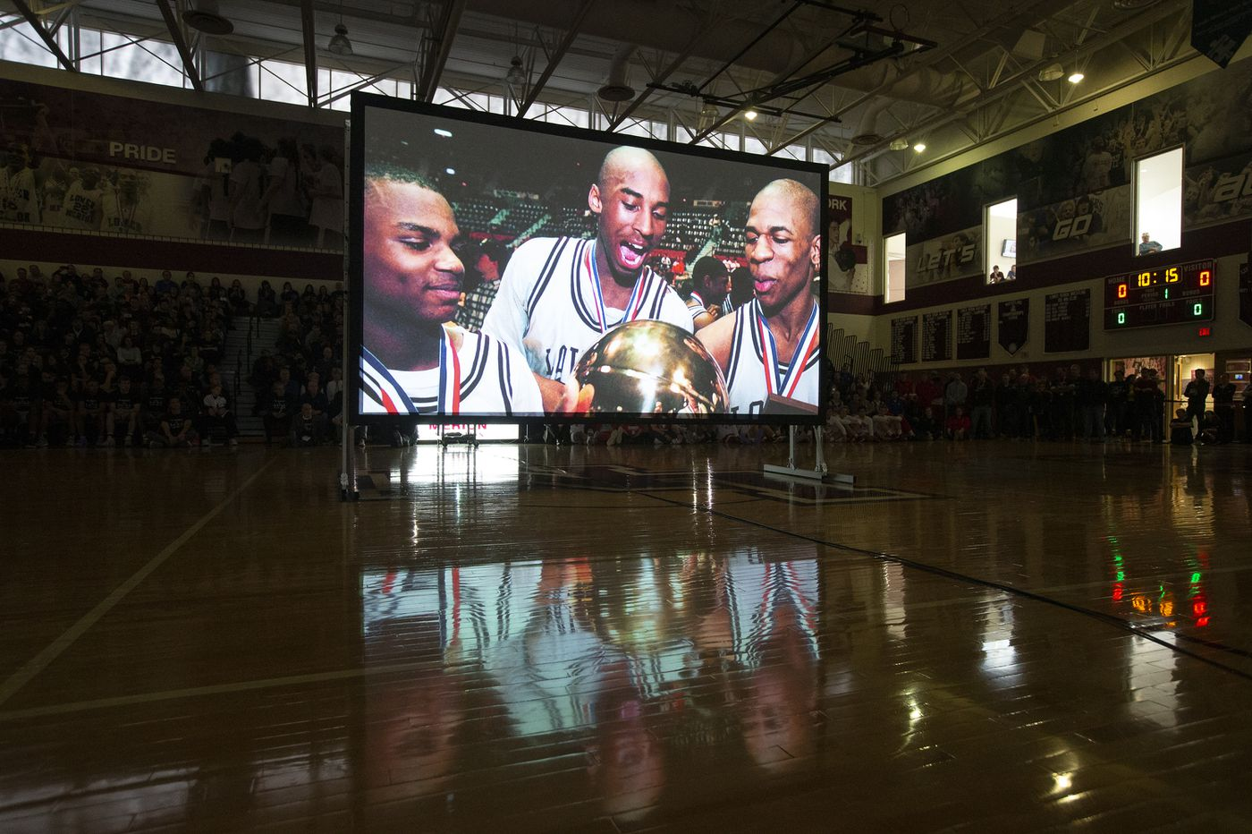 'Aces up': Lower Merion's emotional game-day tribute to Kobe Bryant
