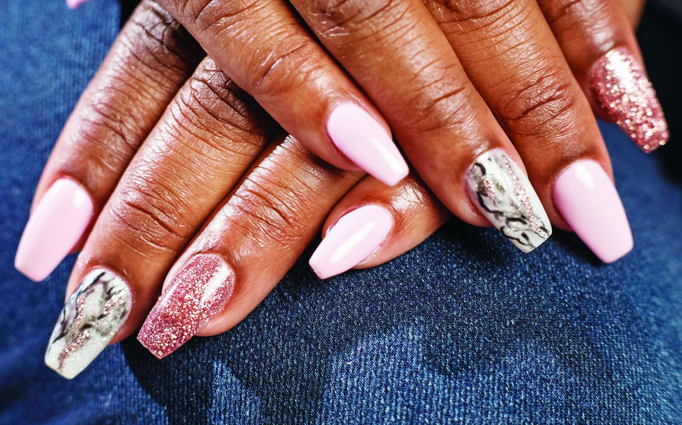 This hot nail trend is inspired by nature