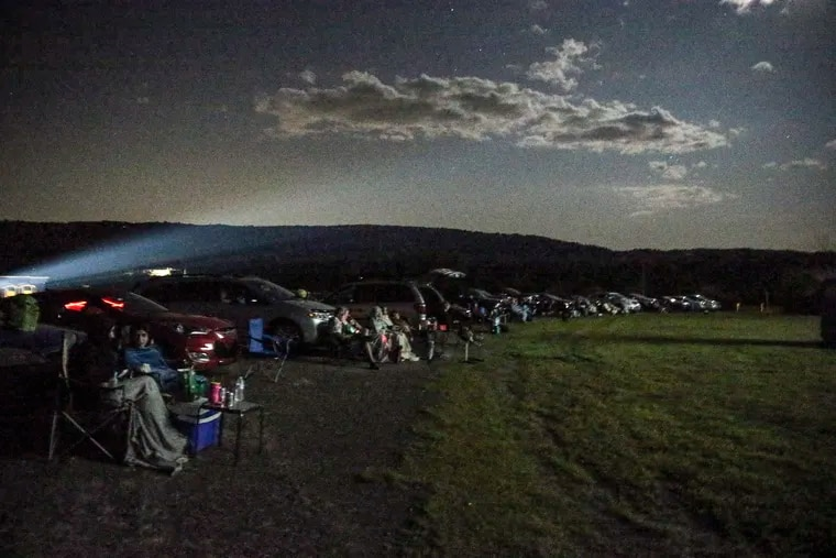 The Mahoning Drive-In, of the few, dwindling drive-in movie theaters in Pa, is taking a different tact, by going back to the past. The theater only plays 35 mm movies, old monster flicks and b-movies, in Lehighton Pa., Friday, August 9, 2019
