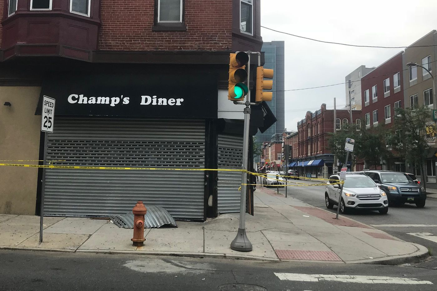 Temple favorite Champs Diner reopened Friday morning after an Uber resulted in a temporary closing.