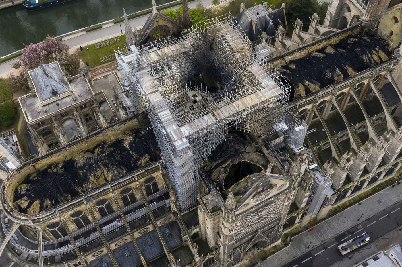 Firefighters had a secret weapon when Notre Dame caught fire: A robot named 'Colossus'