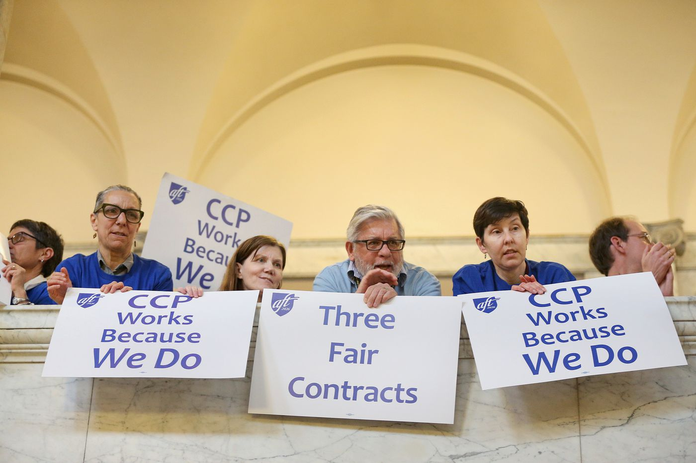 Proposed CCP contract is 'a victory under the circumstances we're living in,' says union