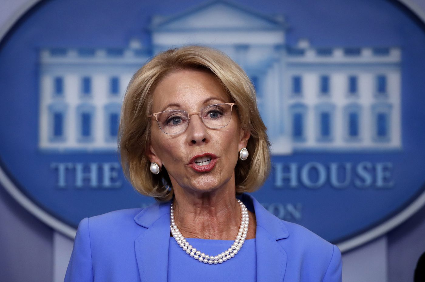 Education Department announces new campus sexual assault rules that bolster rights of accused