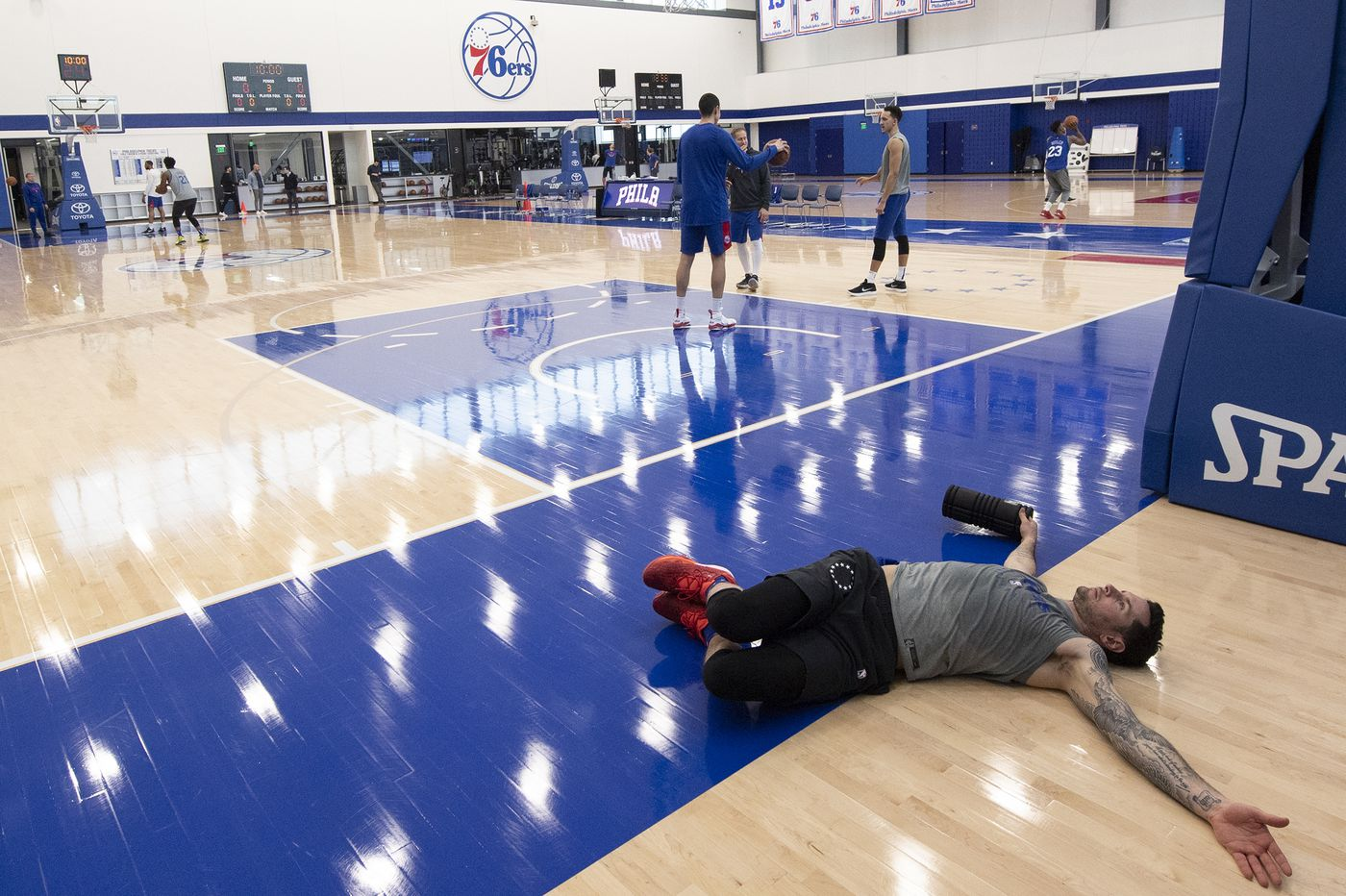 JJ Redick to miss Sixers' game against Wizards, Shake Milton plays in two games in one day