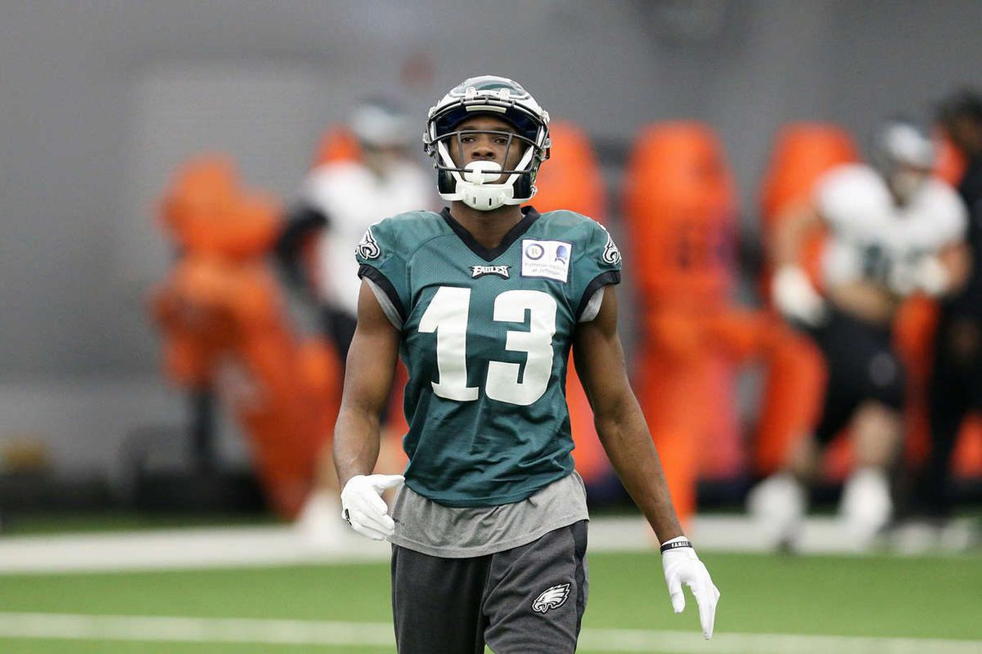 Nelson Agholor and the Eagles arrive at the same time   Bob Ford
