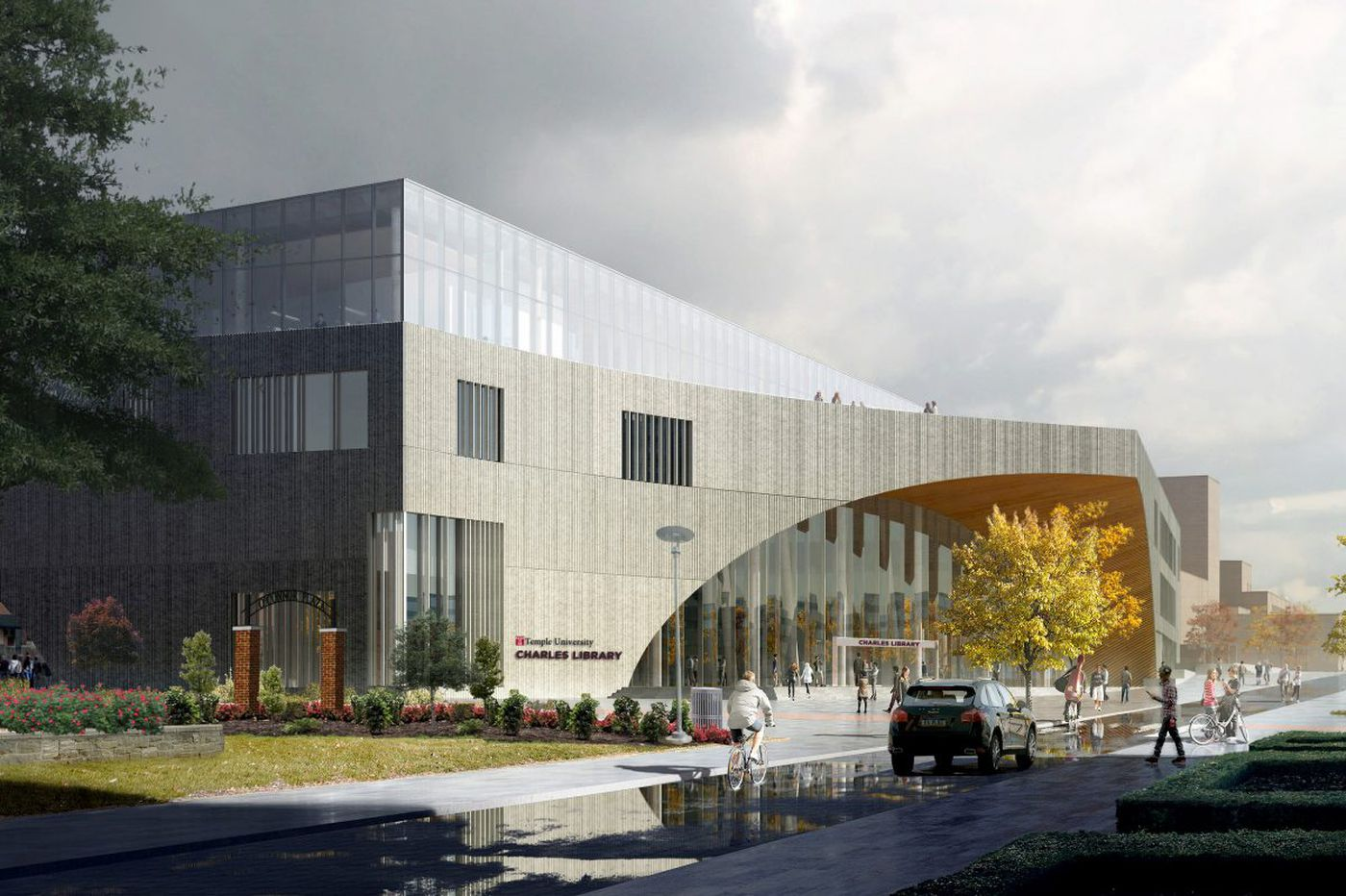 New Temple library named for trustee who donated $10 million