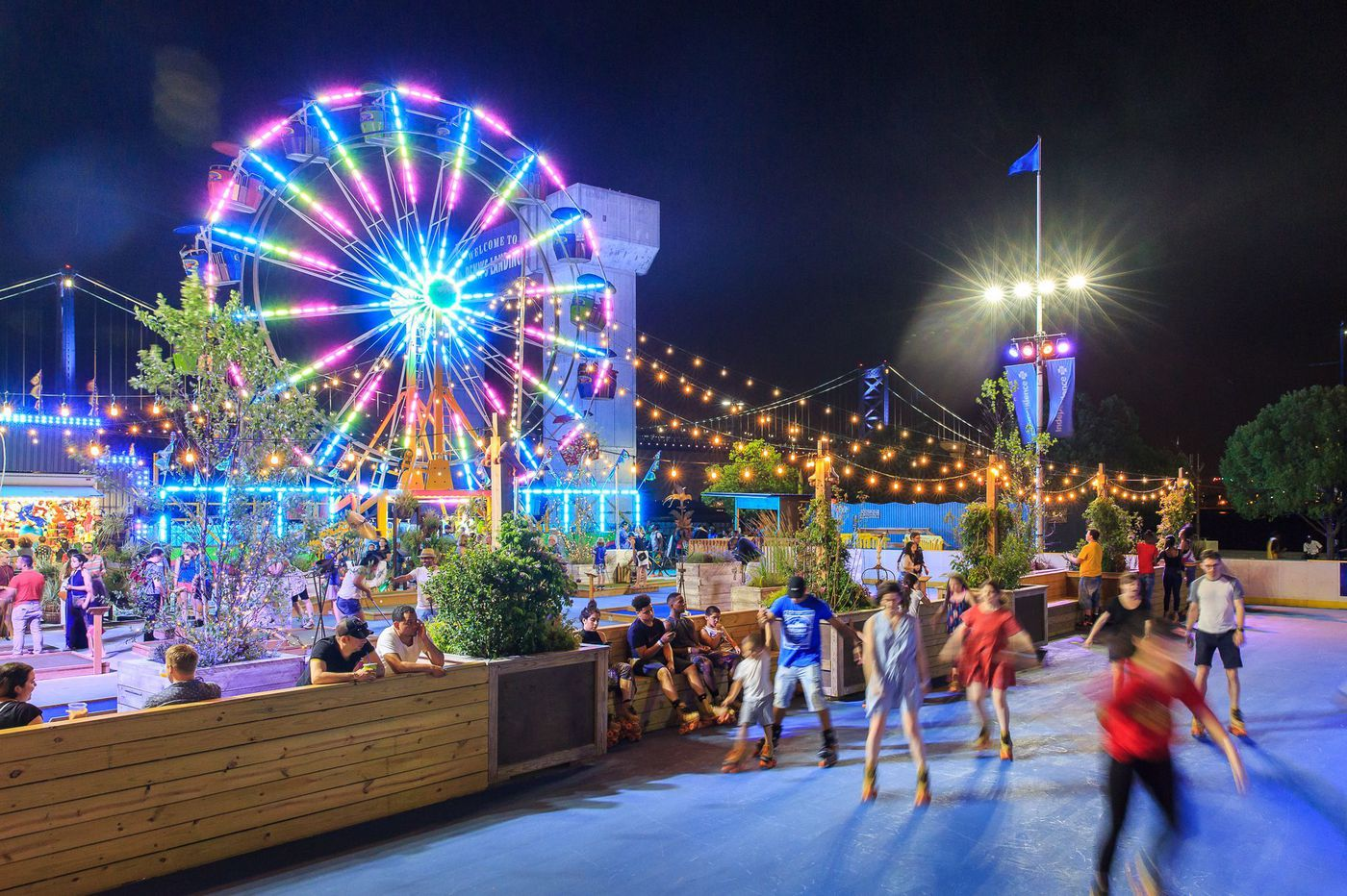 Here's the summer schedule for Cherry Street Pier, Spruce Street Harbor Park, Penn's Landing, and more