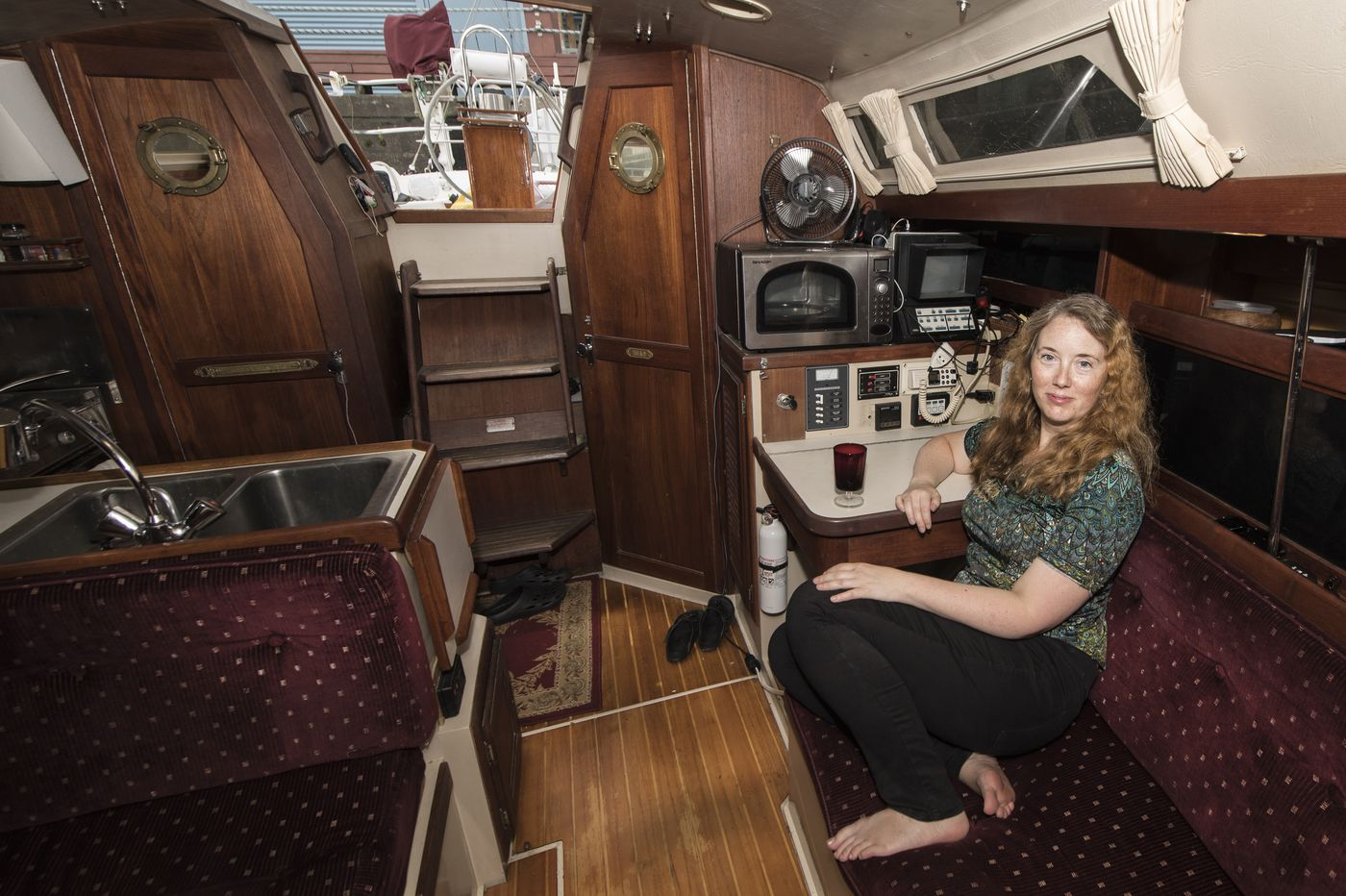 Living on a boat on the Delaware River? 'It's the best deal in Philadelphia.'