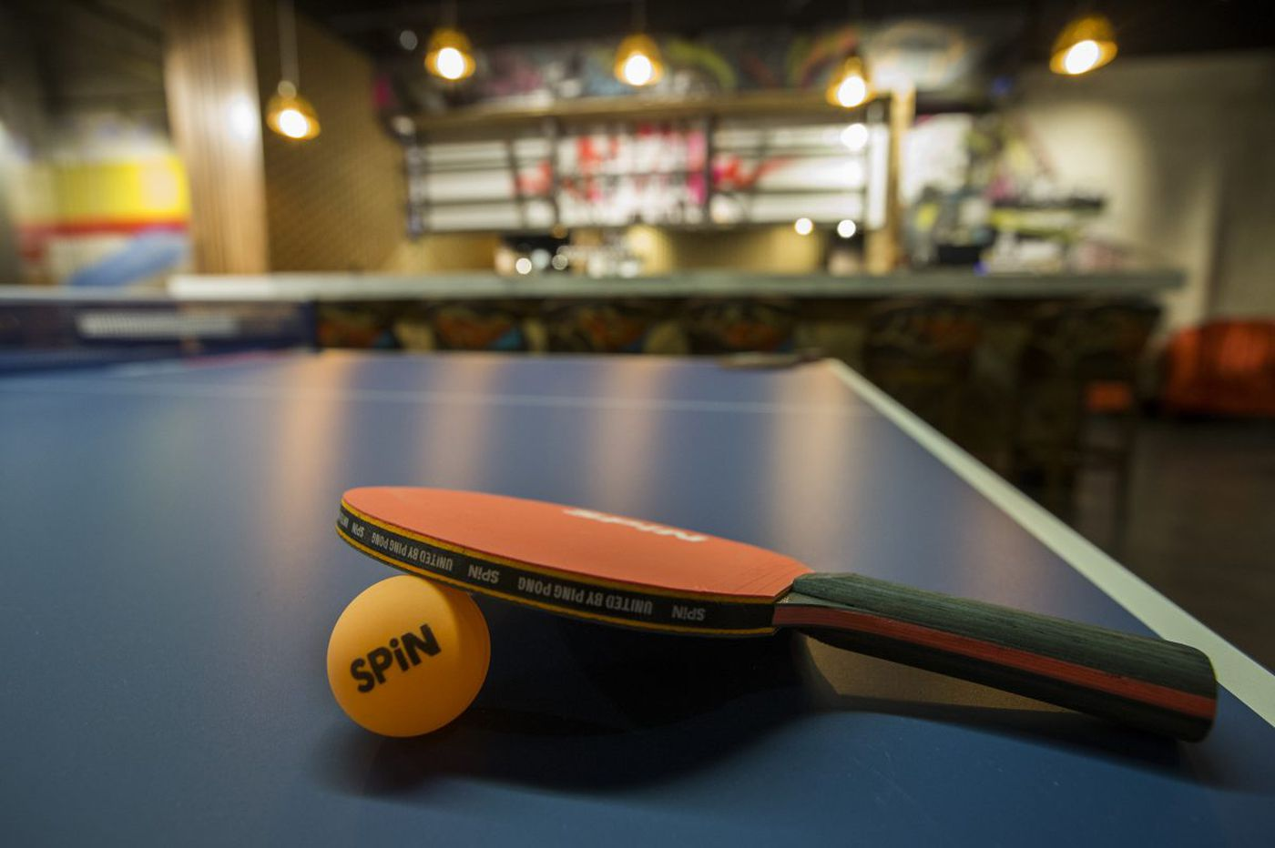 Can I order a cocktail to go with my Ping-Pong?