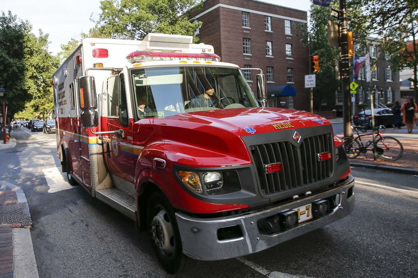 Barricaded man turns on oxygen tanks in Philly hospital room, sets fire to bedsheets, police say