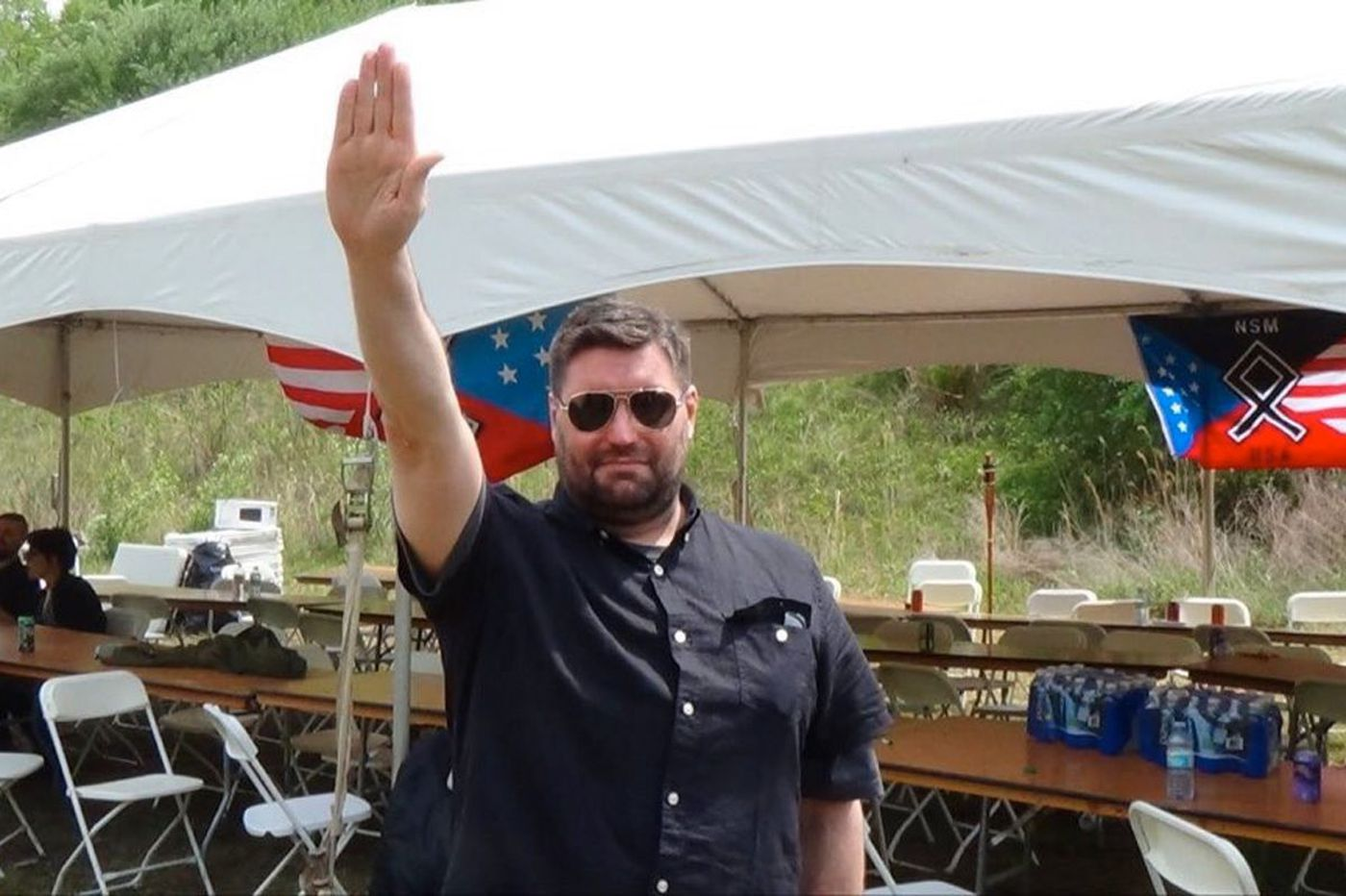 Top neo-Nazi shock jock grew up in the N.J. suburbs - and had a Jewish wife