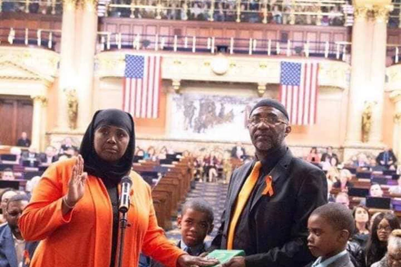 Divisive prayer at statehouse provides Movita Johnson-Harrell's divine introduction to Harrisburg | Jenice Armstrong