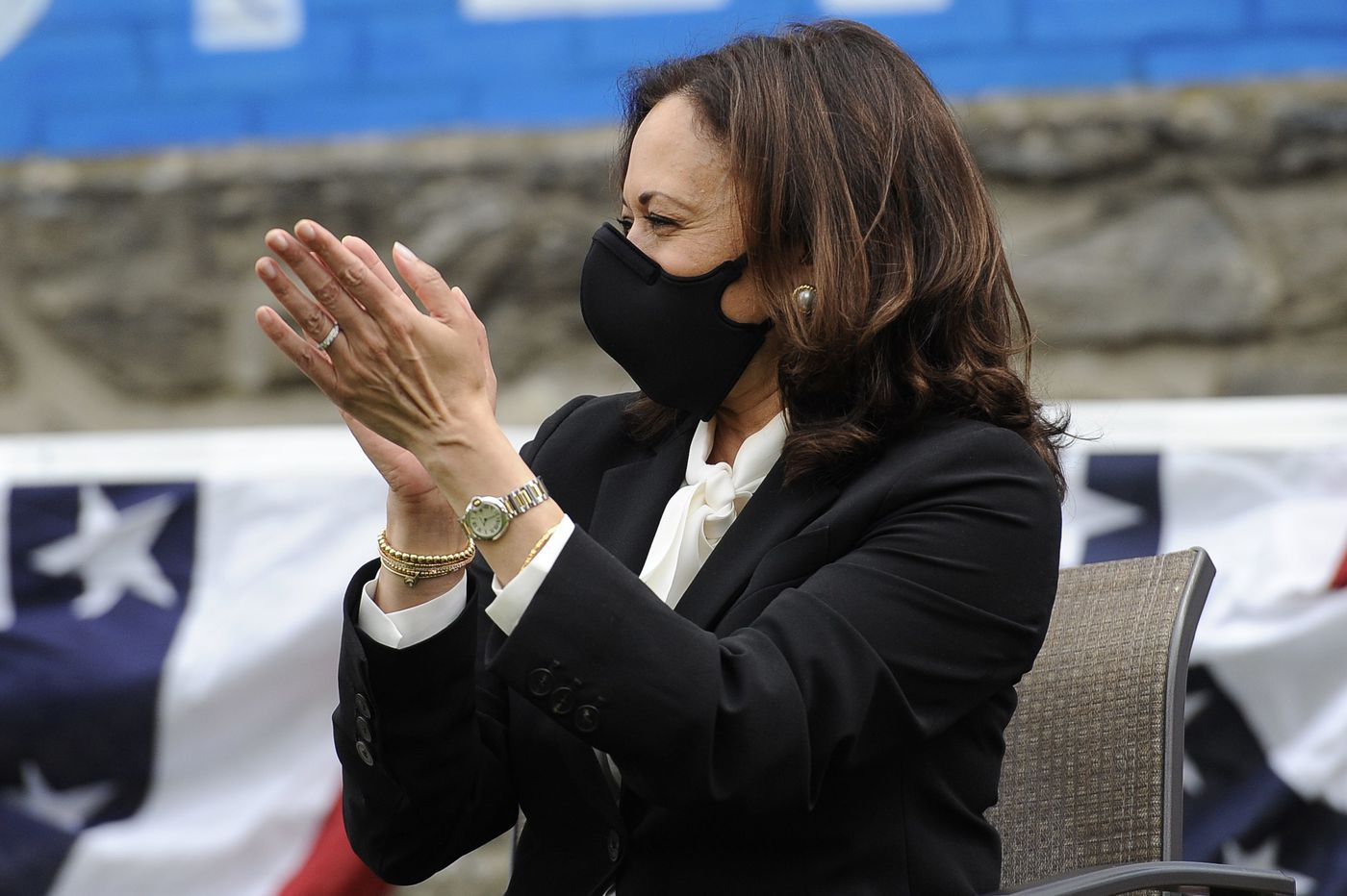 Kamala Harris makes her Pa. campaign debut with a message to Black and Latino voters in Philly