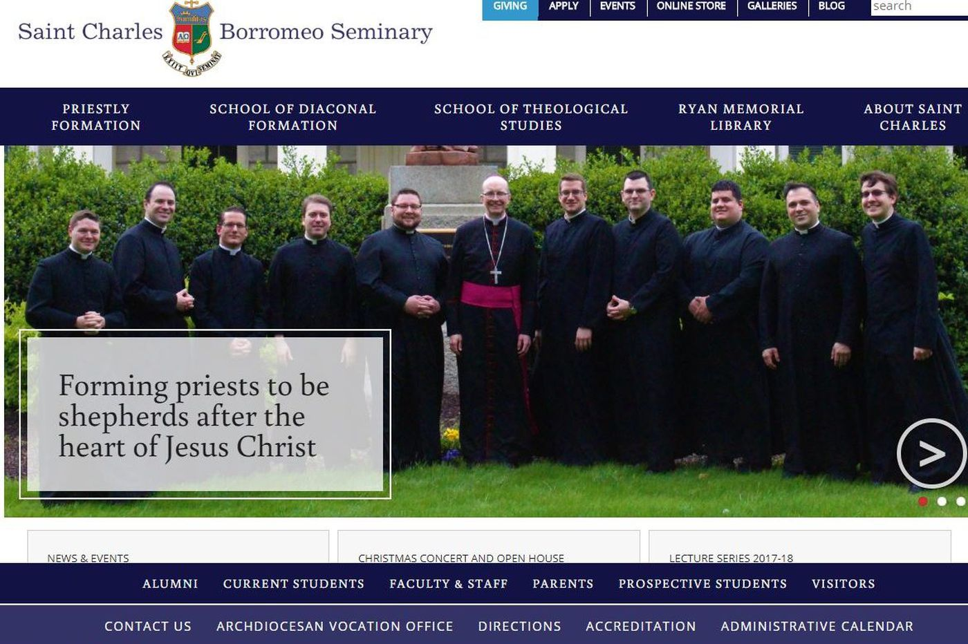 St. Charles Borromeo Seminary lost $2.6 million due to potential move and lawsuit's settlement