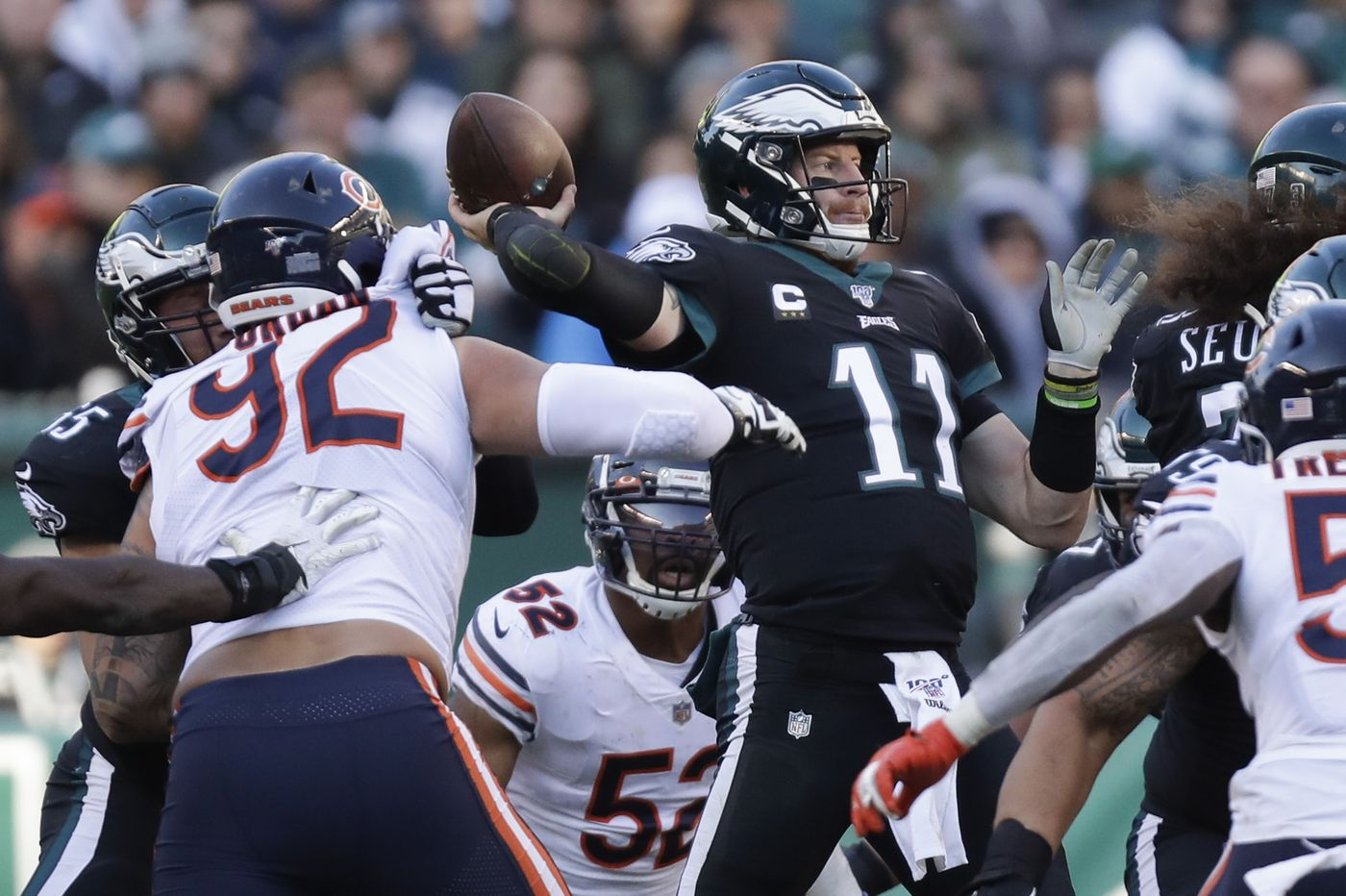 Carson Wentz made the big plays in the Eagles' win over the Bears. Nothing else matters. | Mike Sielski