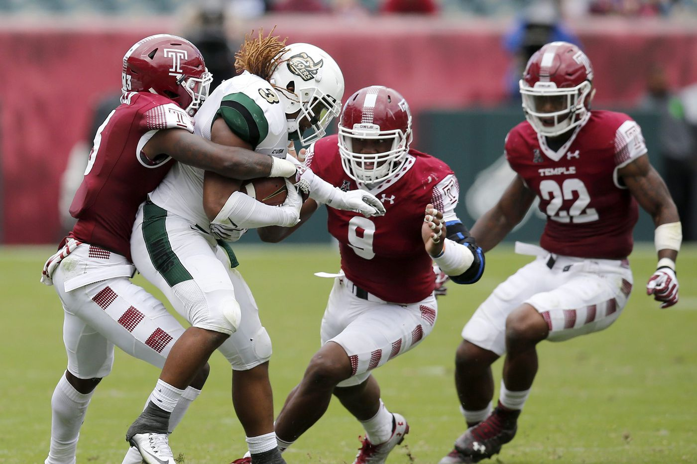 Nine Temple players from last year's team are in NFL camps