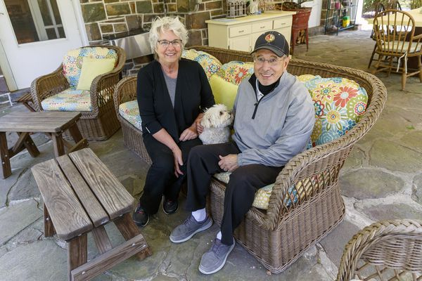 They retired in the Poconos house they had admired for years