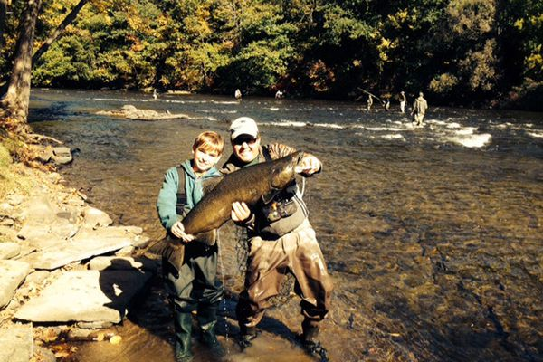 Newbies try fly-fishing - and are hooked, too