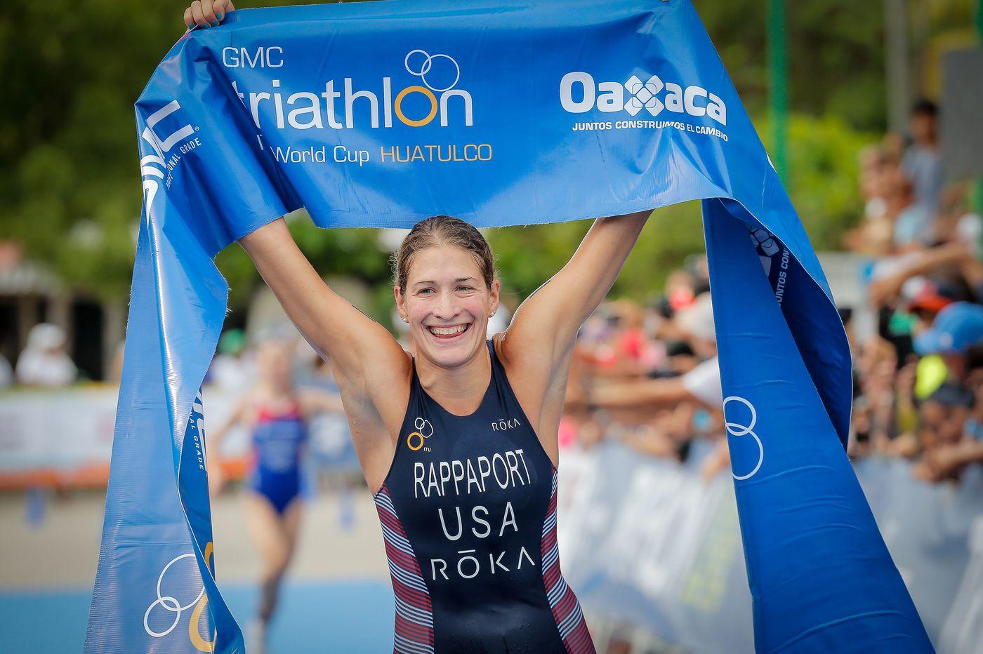 Former Villanova athlete Summer Rappaport must wait for her Olympic triathlon opportunity