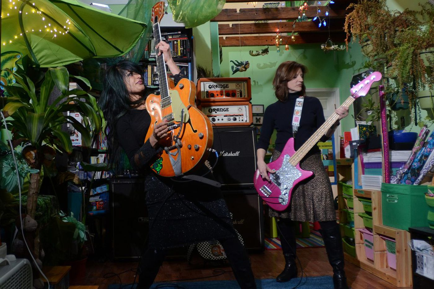 How these Philly musicians mix motherhood with rock and roll