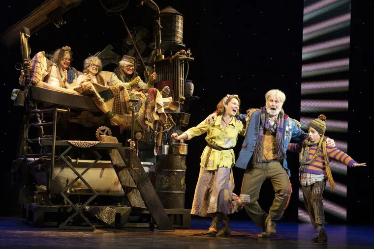 """The national touring company of """"Charlie and the Chocolate Factory,"""" through Nov. 18 at the Academy of Music."""