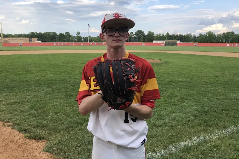 Cherry Hill East senior Steve Lombardi is the perfect representative of the Cougars. He might not look like a top-of-the-rotation guy for a Group 4 power. He just pitches like one.