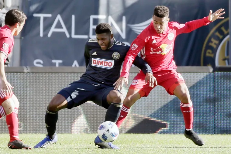 Union defender Mark McKenzie was a finalist for Major League Soccer's Rookie of the Year award and U.S. Soccer's Young Male Athlete of the Year award.