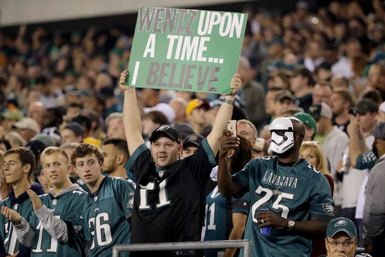 Eagles fans have good reason to believe.