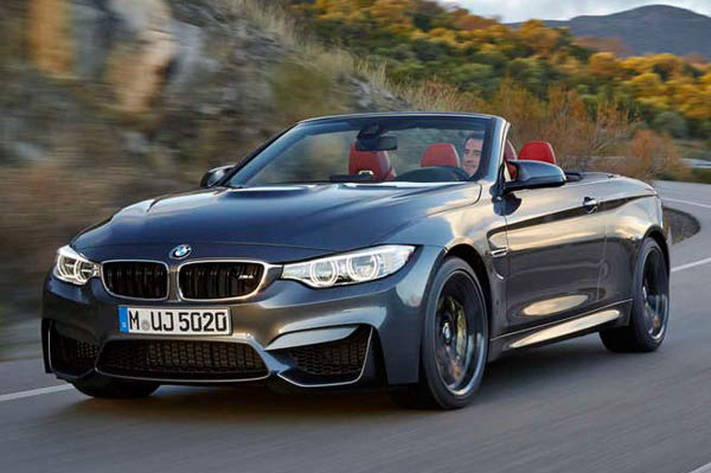 Driver S Seat Bmw M4 Convertible Comfortable But Fun Takes Some Effort