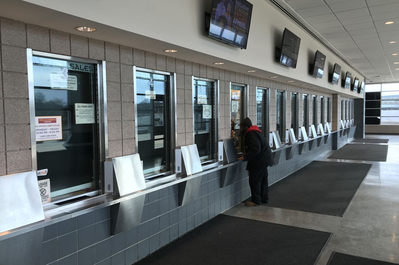 6f8437b38 Wells Fargo Center to shrink its box office and add flexible kitchens to  offer new food, ...