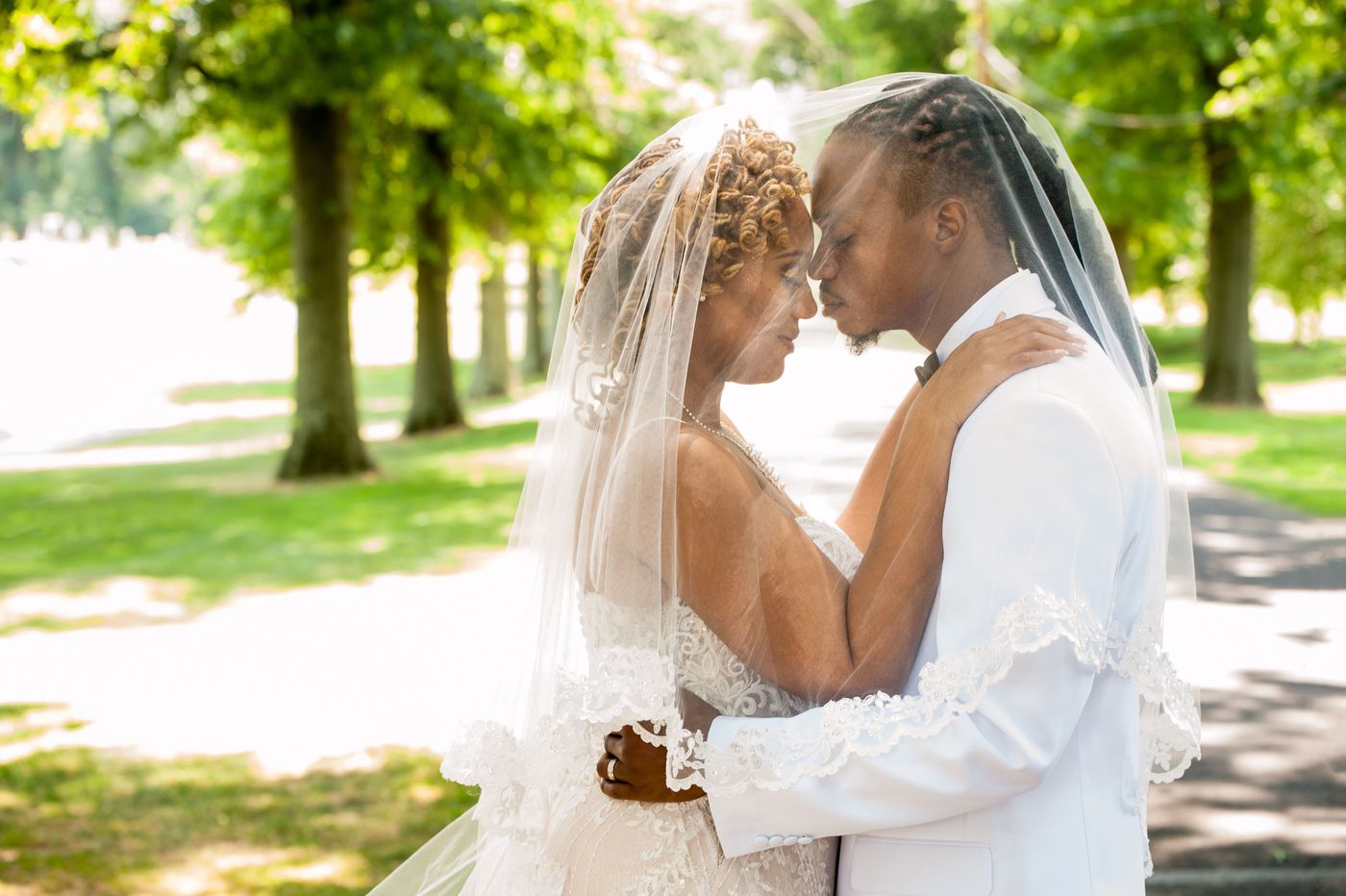 Philadelphia weddings: Tia Burroughs and Spencer Clayton